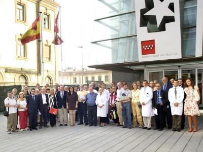Pacientes con dolencias de corazón del Hospital Gregorio Marañón hacen el Camino de Santiago
