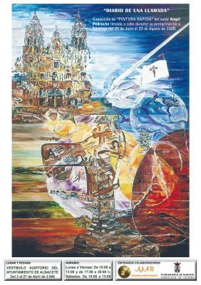 Exposición en Albacete de Pintura Rápida sobre el Camino de Santiago
