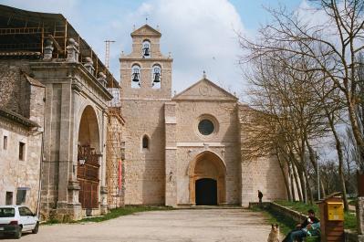 """San Juan de Ortega (Burgos), """"hito"""" de la ruta jacobea"""