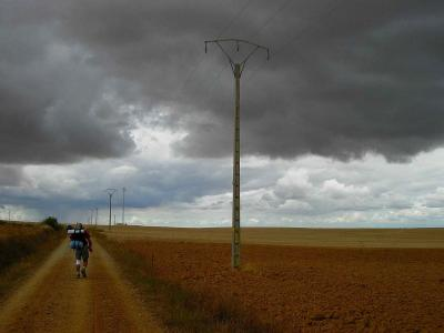 Exposición fotográfica sobre el Camino de Santiago de Àlvar Sáez en Madrid